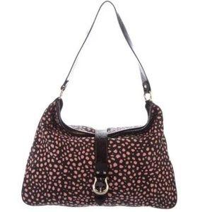 KATE SPADE NY Terrycloth Animal Print Tote Handbag